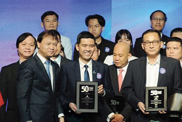 Đất Xanh xuất sắc đứng đầu top doanh nghiệp bất động sản Kinh doanh hiệu quả nhất năm 2018