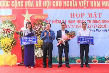 Tập đoàn Đất Xanh tài trợ 500 triệu đồng xây dựng nhà tình nghĩa tại xã Phụng Hiệp, tỉnh Hậu Giang