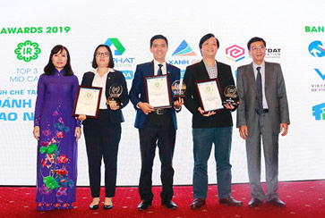 Đất Xanh xuất sắc top 3 doanh nghiệp niêm yết có hoạt động IR tốt nhất 2019