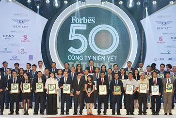 Lần thứ 7 liên tiếp, Đất Xanh vinh danh Top 50 công ty niêm yết tốt nhất Việt Nam