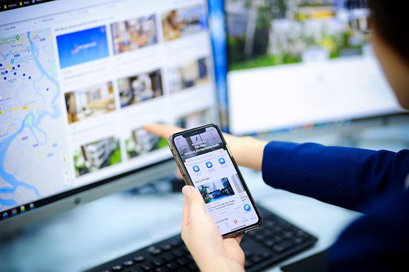 Nền tảng công nghệ Dat Xanh Services tự phát triển