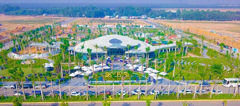 Khu đô thị Gem Sky World đang từng bước hoàn thiện những hạng mục công trình trọng điểm theo tiến độ cam kết.
