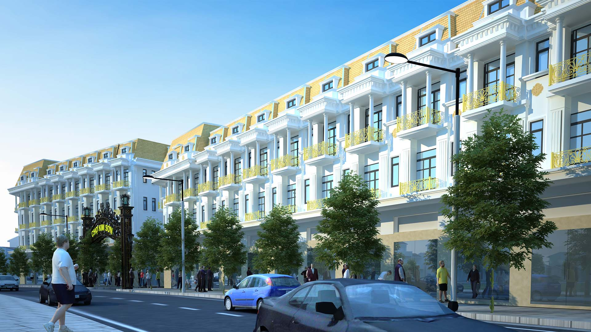 Dự án Chợ Kim Sơn - Quế Phong