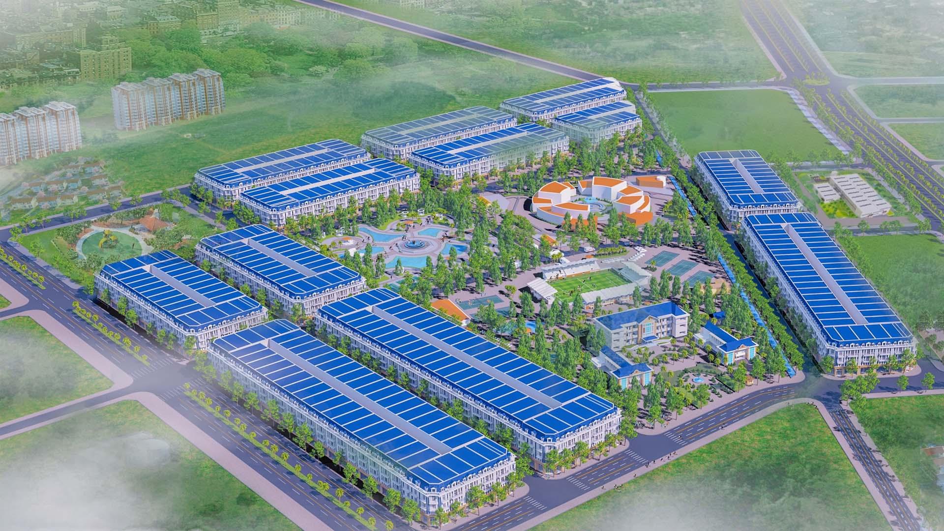 Dự án khu dân cư Đông Tân