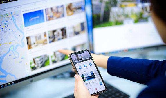 Ứng dụng công nghệ vào môi giới bất động sản