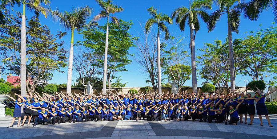 Hệ thống Dat Xanh Services thưởng Tết cho nhân viên từ 3-8 tháng lương. Ảnh: Đất Xanh Servives.