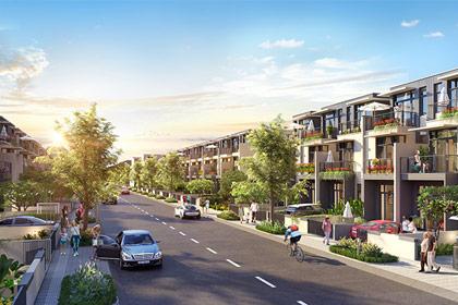 """Thị trường BĐS Long Thành """"nóng"""" lên với phân khu nhà xây sẵn Sapphire Parkview"""