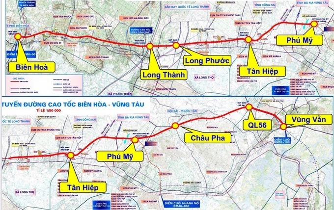 Cao tốc Biên Hòa - Vũng Tàu